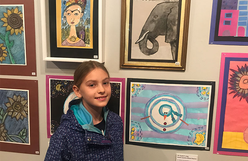 Student-Artists Show Their COLORS
