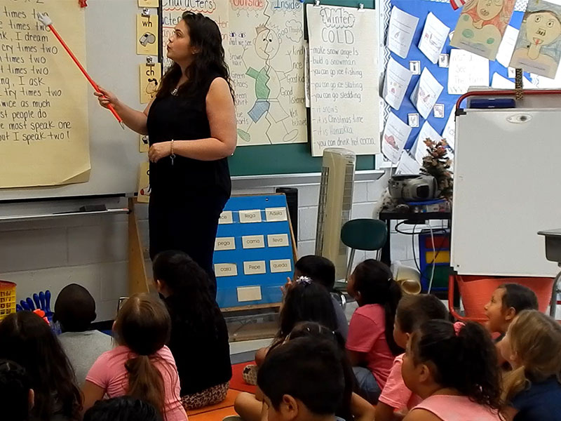 Dual Language Enrichment Program Enters Second Year at Brookhaven Elementary...