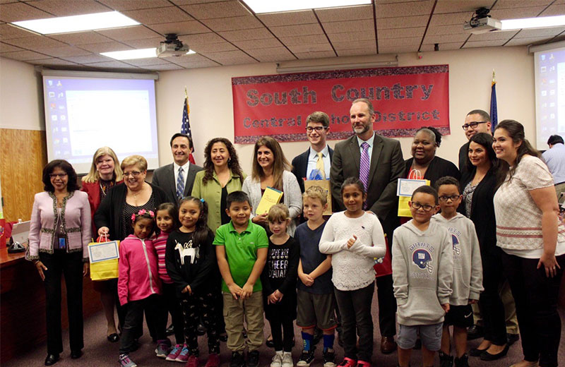 School Board Honored For Commitment To Children