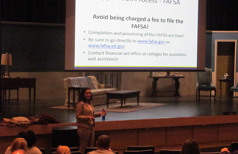 Director of Financial Aid Provides Valuable Insight