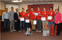 Bellport High School Robotics Team Honored photo