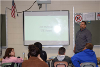 Bellport MS Hosts Take a Vet to School Day photo 3 thumbnail141788