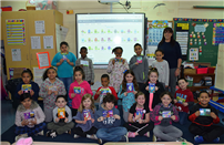 Kreamer Elementary Students Host Postcard Exchange photo